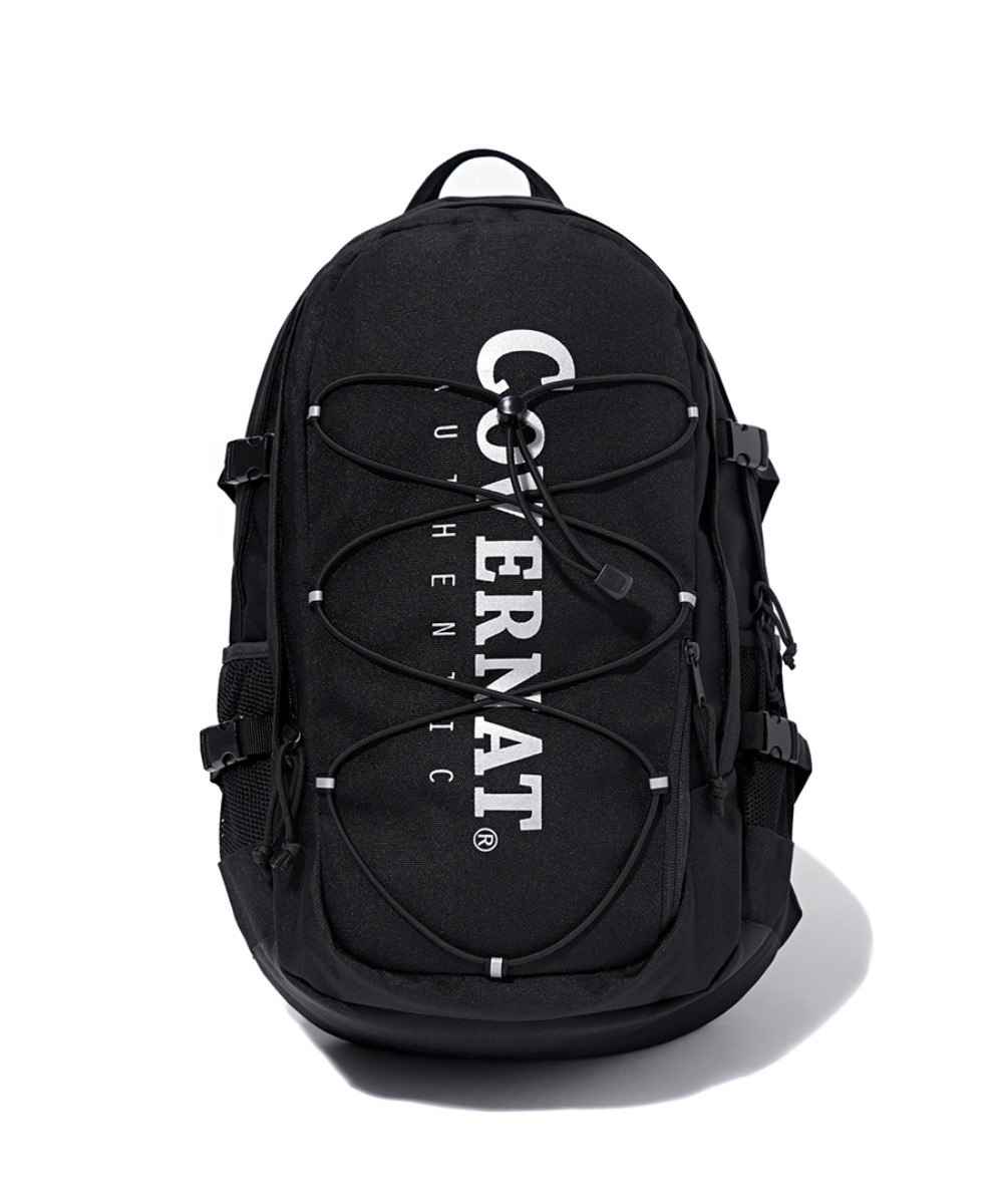 CORDURA AUTHENTIC LOGO RUCK SACK BLACK