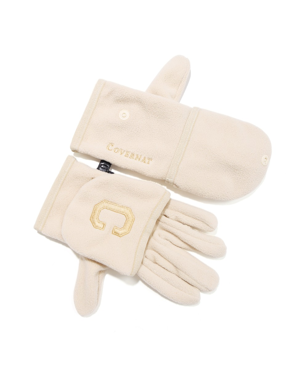 2WAY FLEECE GLOVE IVORY