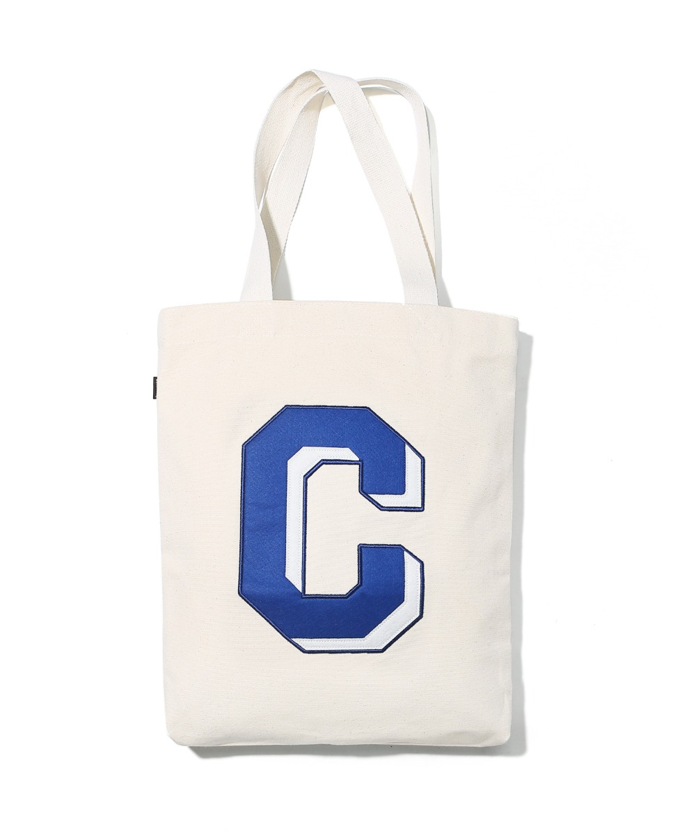 BIG C LOGO ECO BAG BLUE