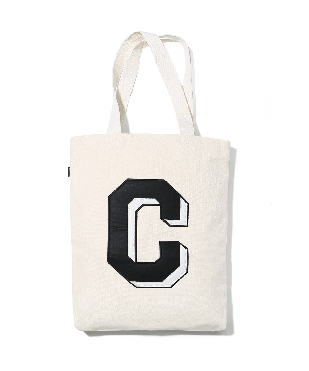 BIG C LOGO ECO BAG BLACK