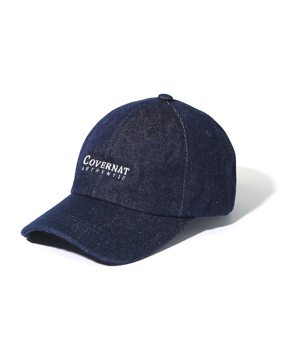 AUTHENTIC LOGO CURVE CAP INDIGO