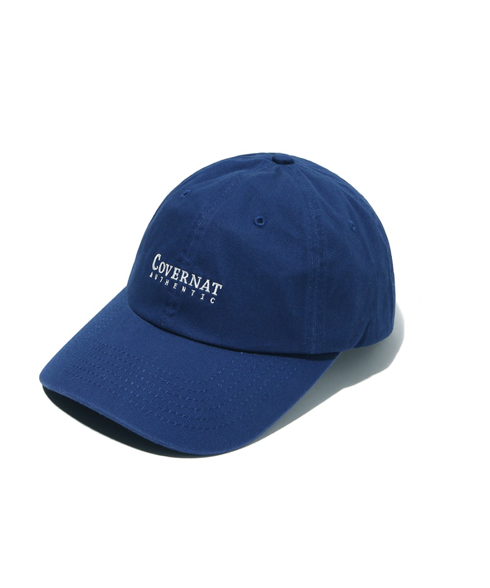 AUTHENTIC LOGO CURVE CAP ROYAL BLUE