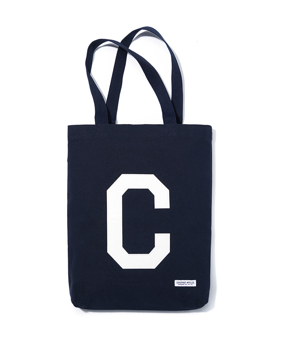 C LOGO ECO BAG NAVY