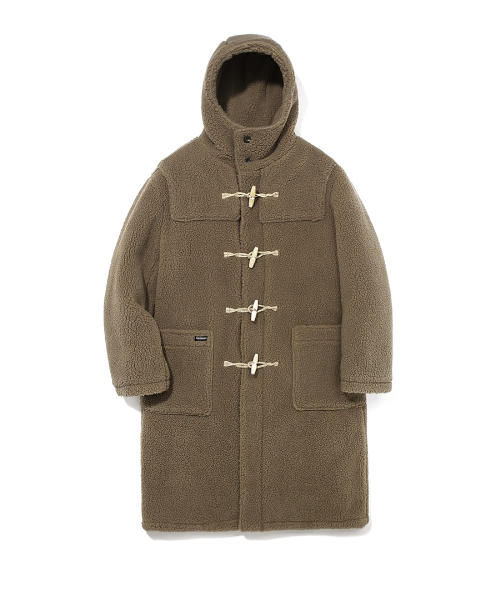 BOA DUFFLE COAT BROWN