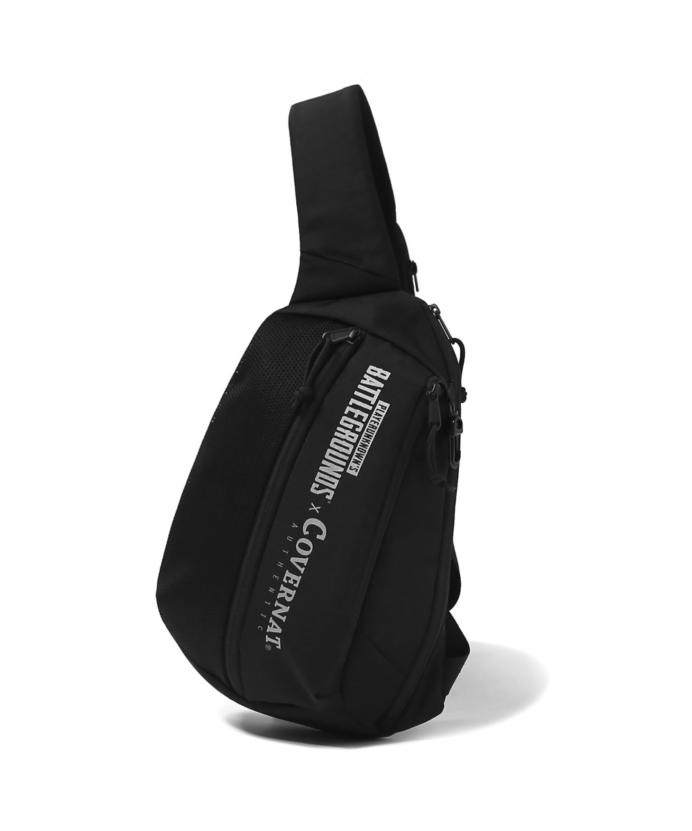 COVERNAT X BATTLEGROUNDS SLING BAG BLACK