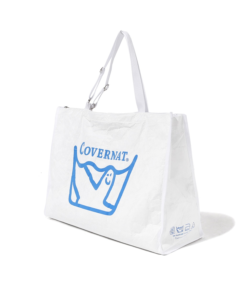 COVERNAT x M/G LAUNDRY BAG WHITE