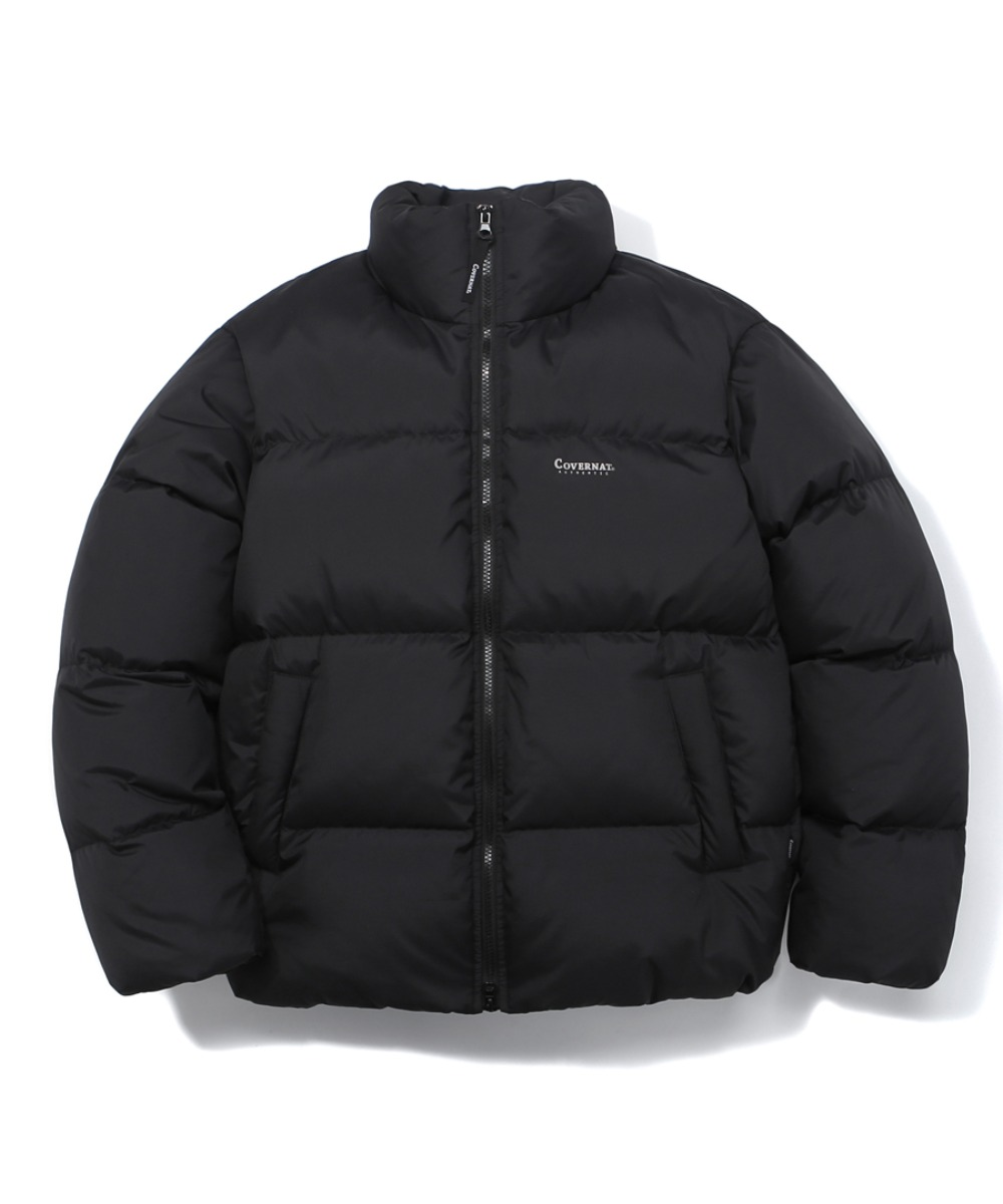 DUCK DOWN WARM UP SHORT PUFFER BLACK
