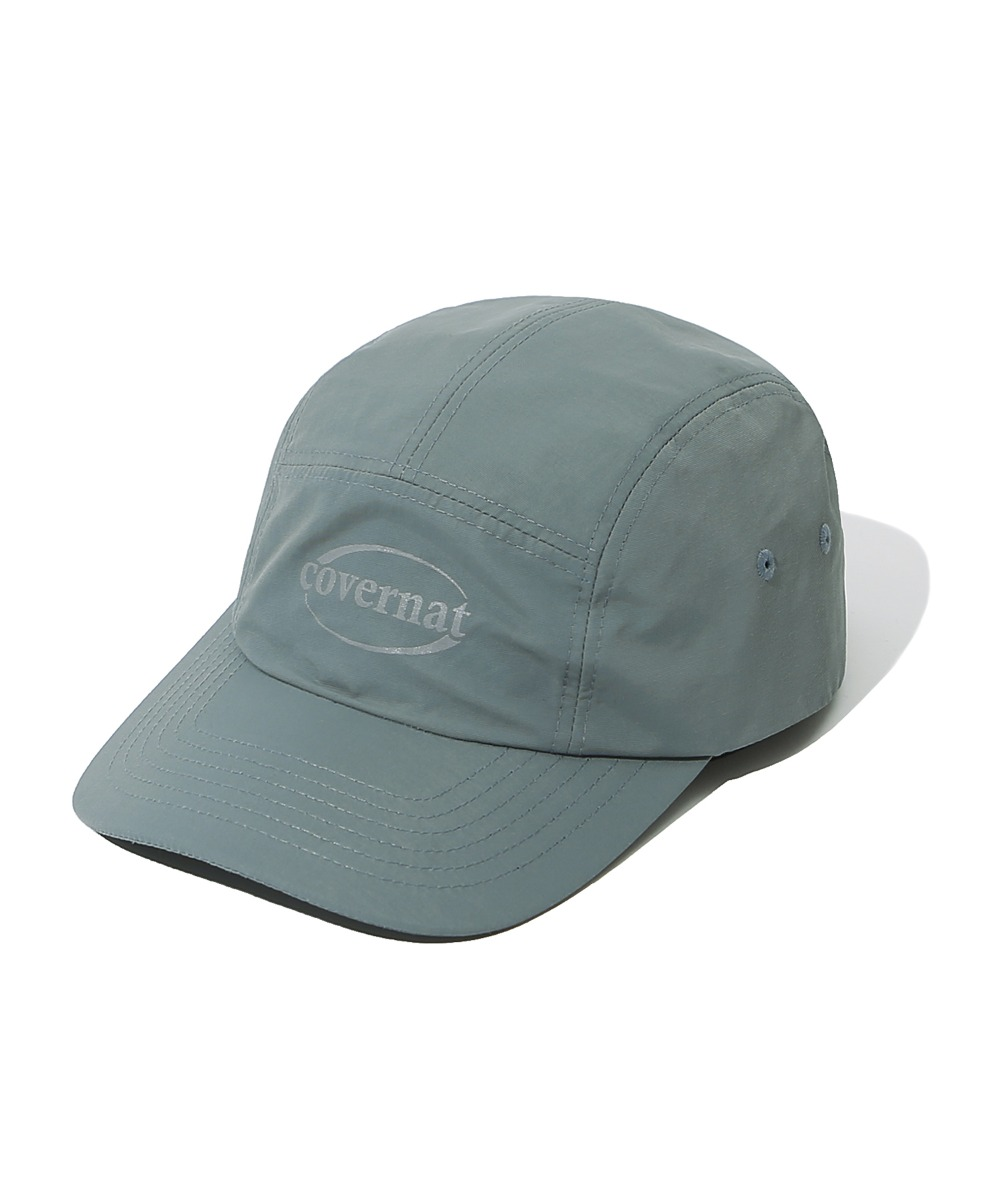 NYLON 5PANELS CAMP CAP GRAY
