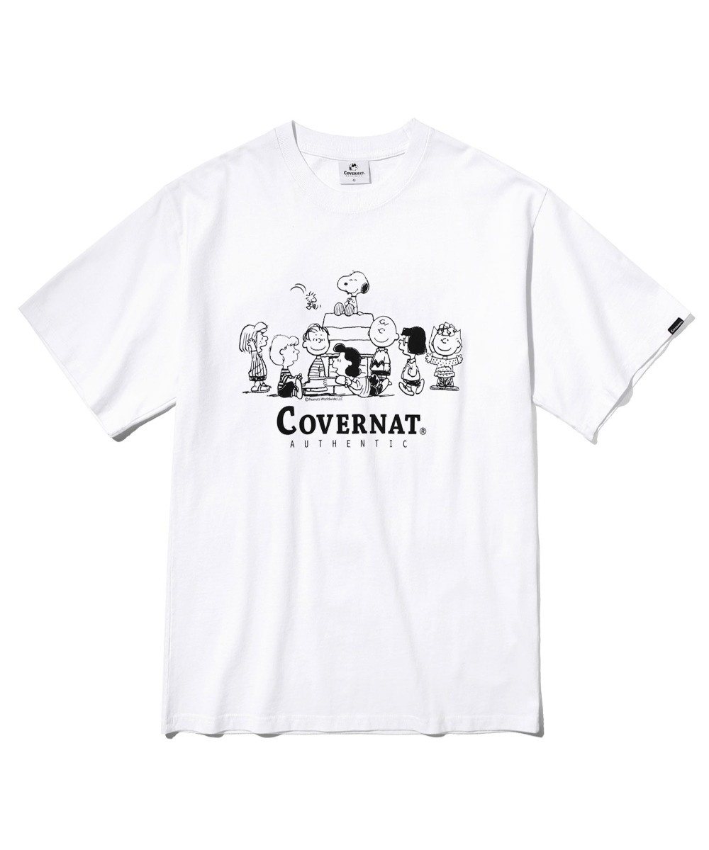 CXPEANUTS 70th WOODSTOCK TEE WHITE