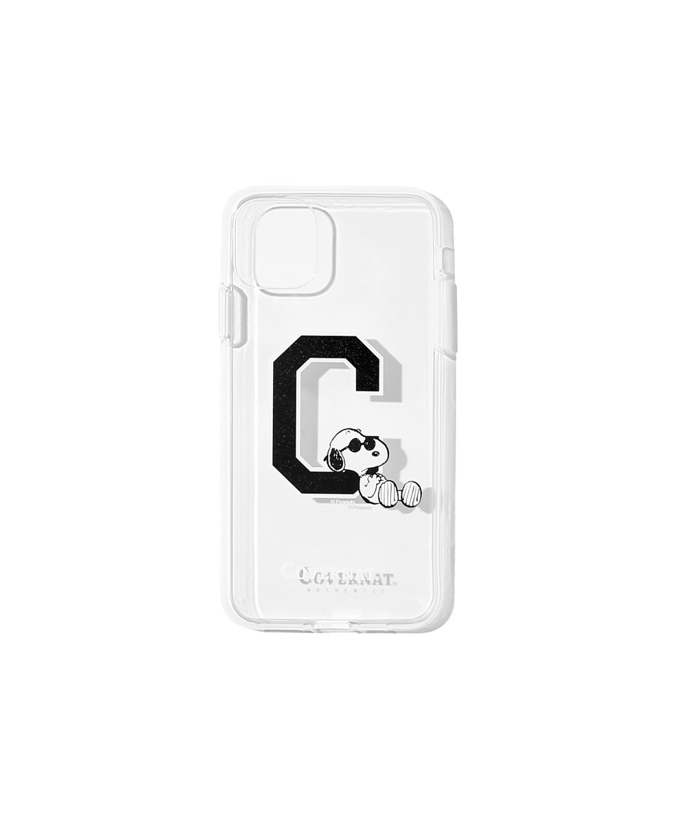 CXPEANUTS 70th C LOGO PHONE CASE CLEAR (iPHONE 11 PRO)