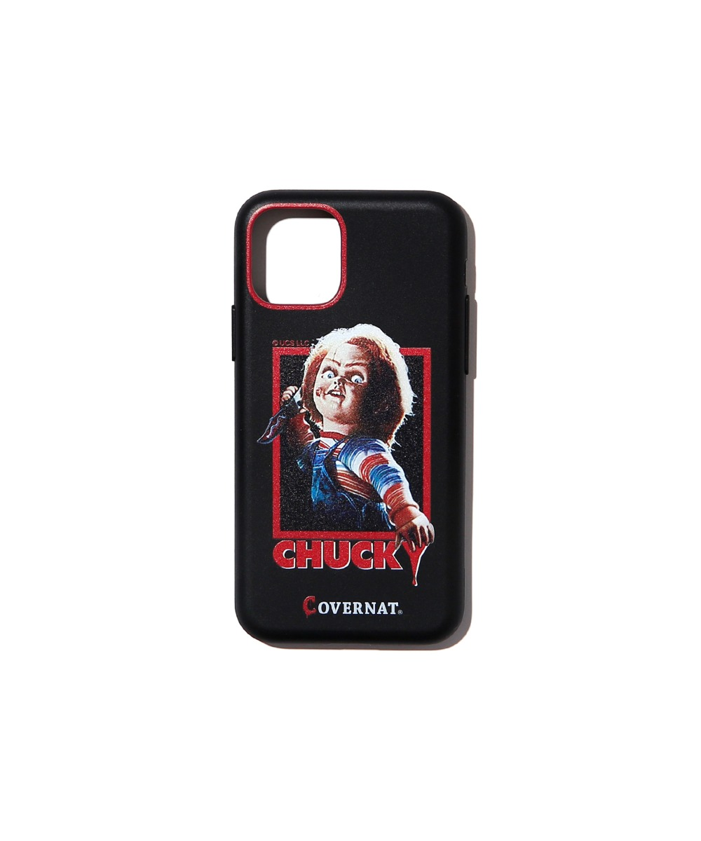 COVERNAT X CHUCKY MOVIE POSTER PHONE CASE BLACK (iPHONE 11 PRO)